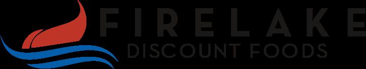 A theme logo of FireLake Discount Foods