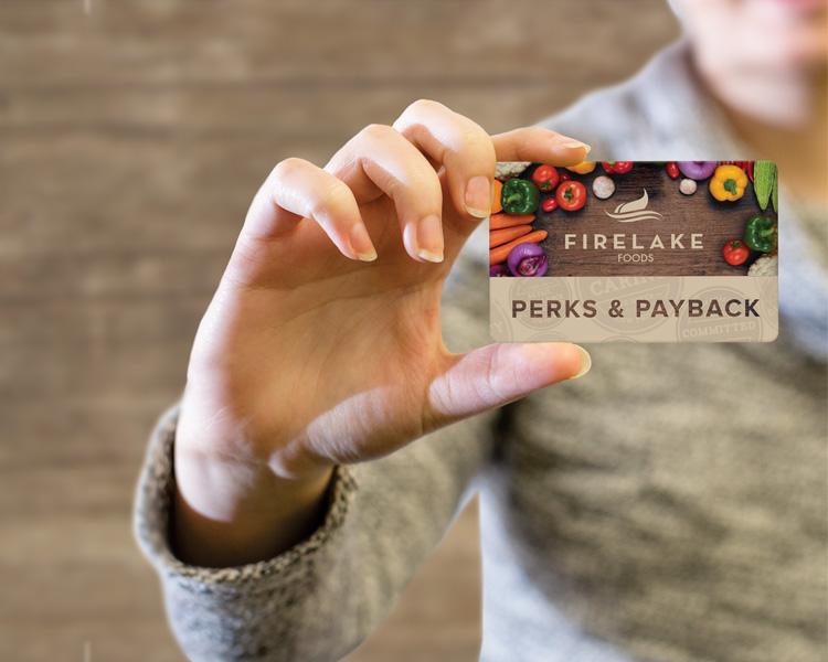 Perks & Payback Rewards Card
